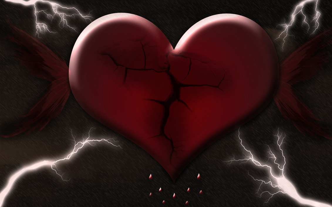 Heartbroken wallpaper by riamali