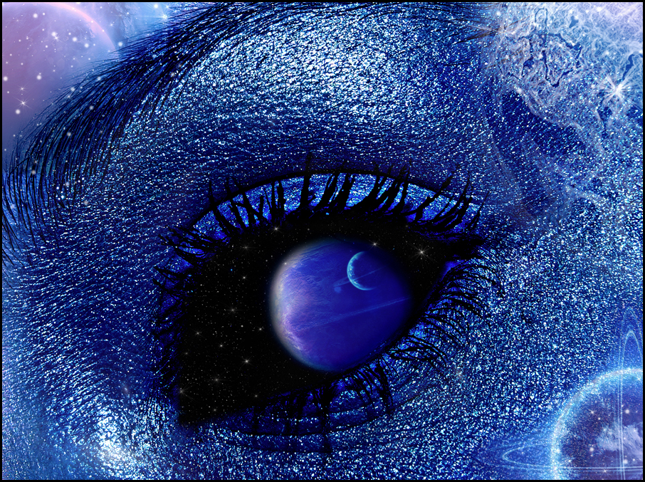 eye space digital art