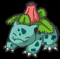 002 Ivysaur by reika-world