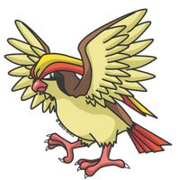 018 Pidgeot by reika-world