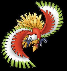 Ho-oh, the Sacred bird