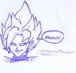 Zamasu Sketch #Ningen