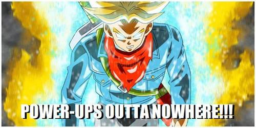 Trunks - Power-ups outta nowhere!!!
