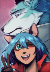 Michiru and Shirou