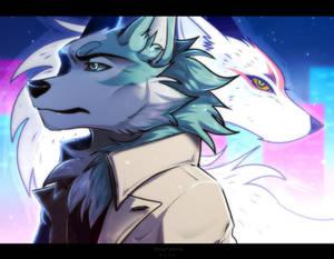 Night wolf blues