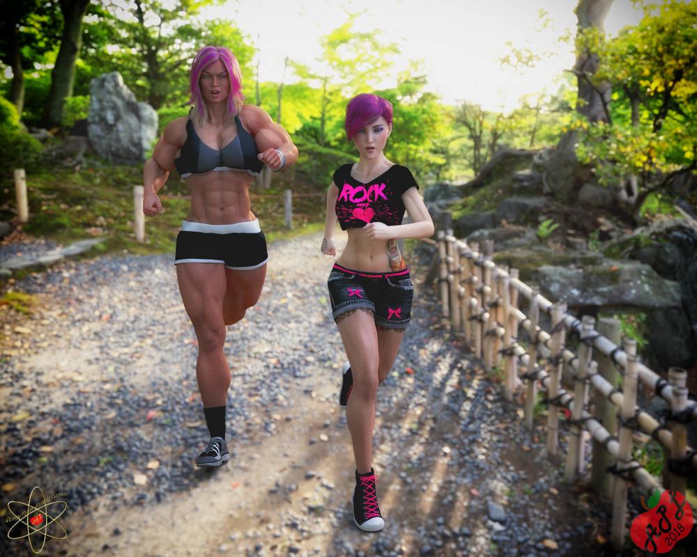 Yumi Hilde Fitness by WhisakedJak