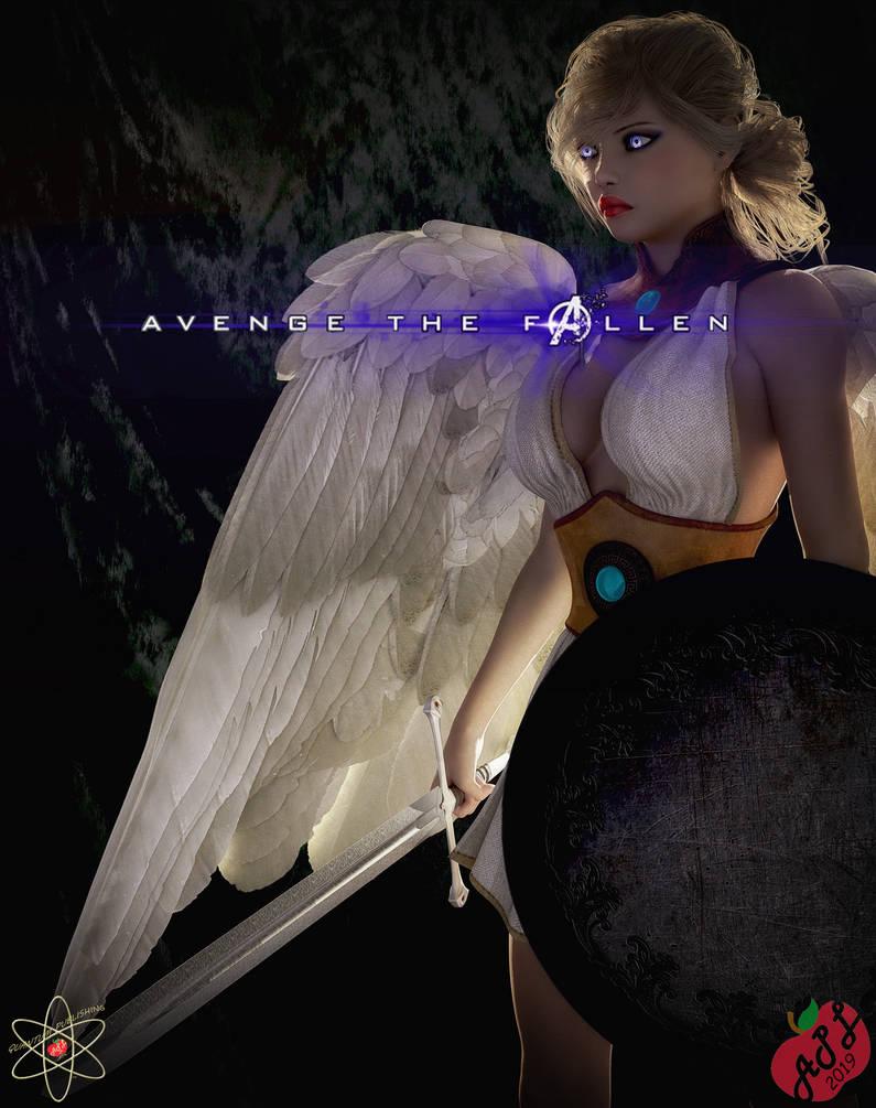 Avenging Angel by WhisakedJak