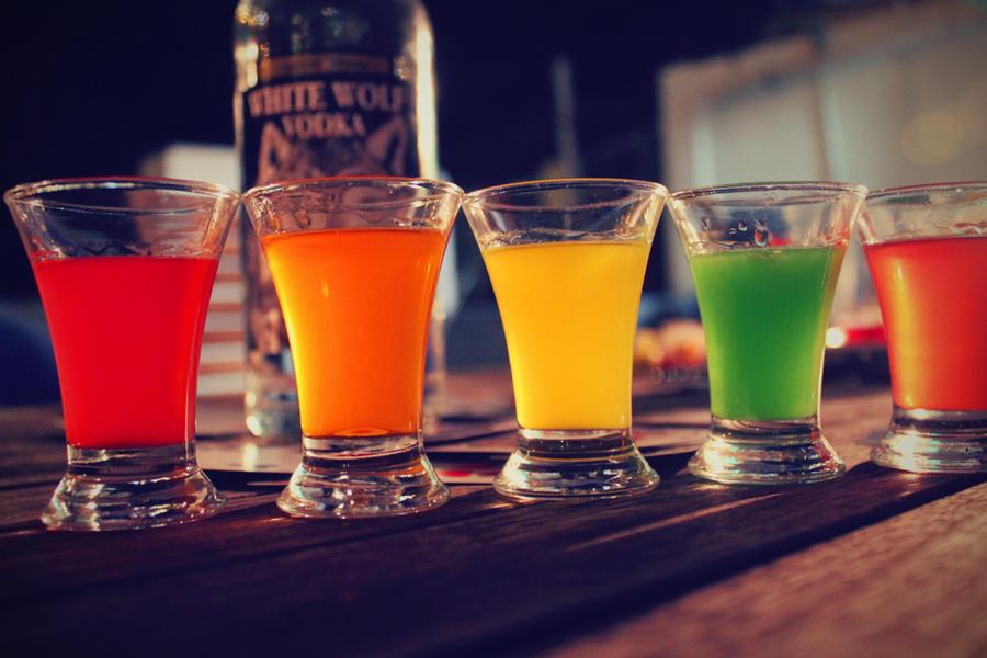 Slam drunk vodka cocktail recipe dishmaps for Easy shot recipes with vodka