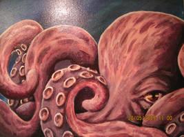 Octopus by LeonardGirl