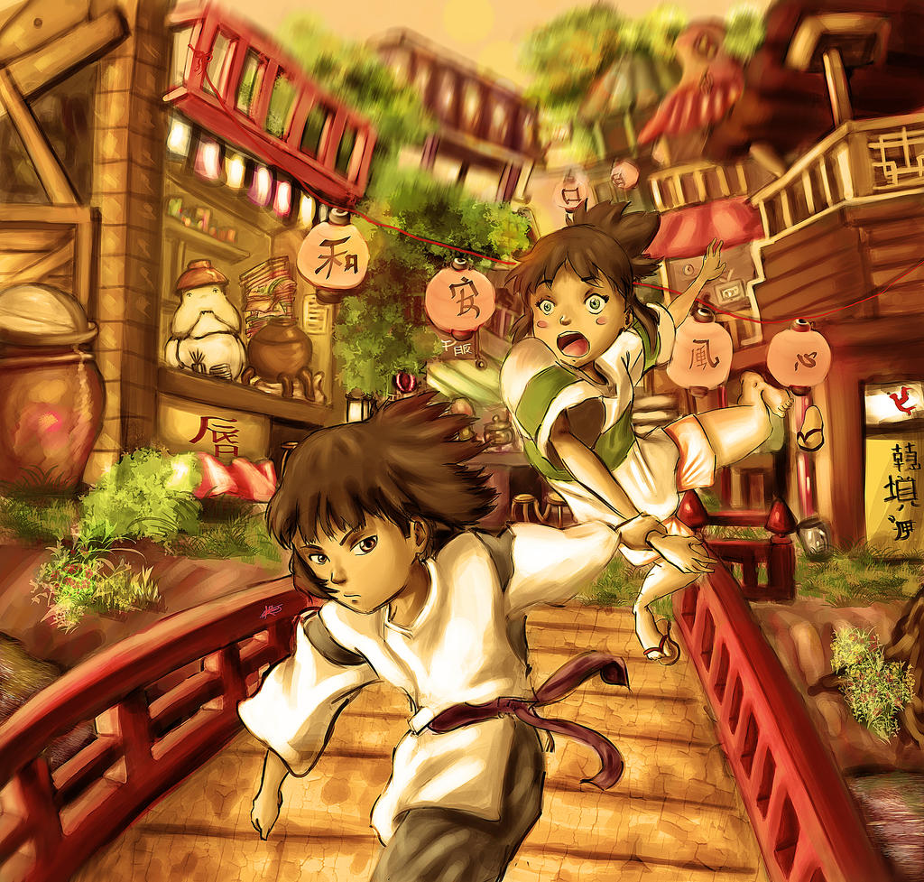 Spirited Away by lamAble on DeviantArt