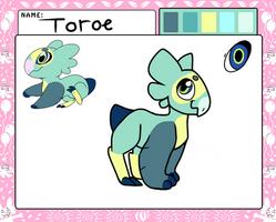 |Wyngro| Toroe by spottedpool90