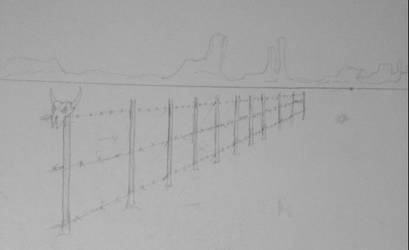 Desert Fence by SlayersStronghold
