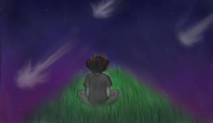 Starlight Falls -Speedpaint by SlayersStronghold