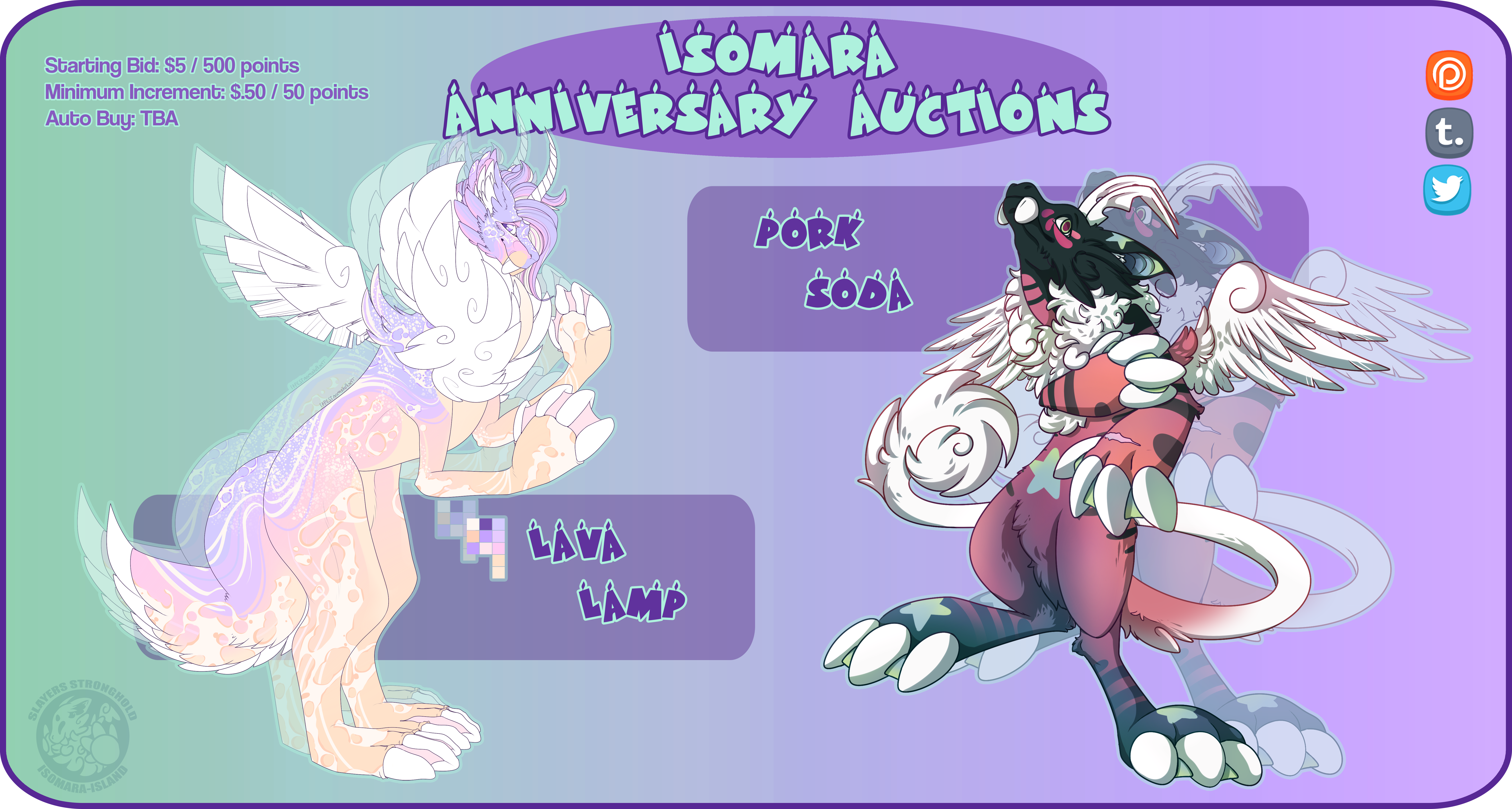 [CLOSED] Iso Anniversary Auction by SlayersStronghold