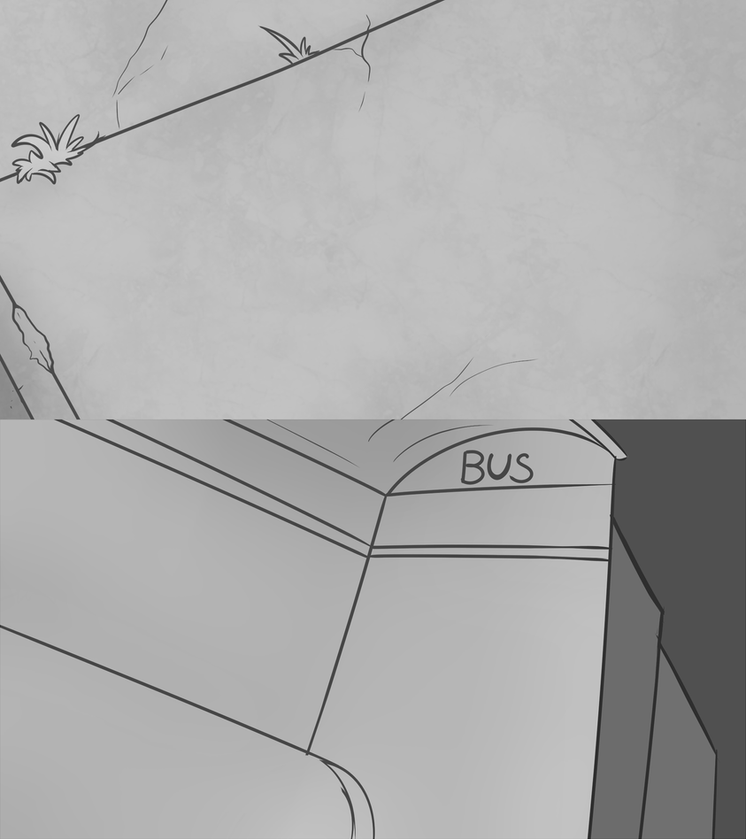 GB: Bus Stop Roughs by SlayersStronghold