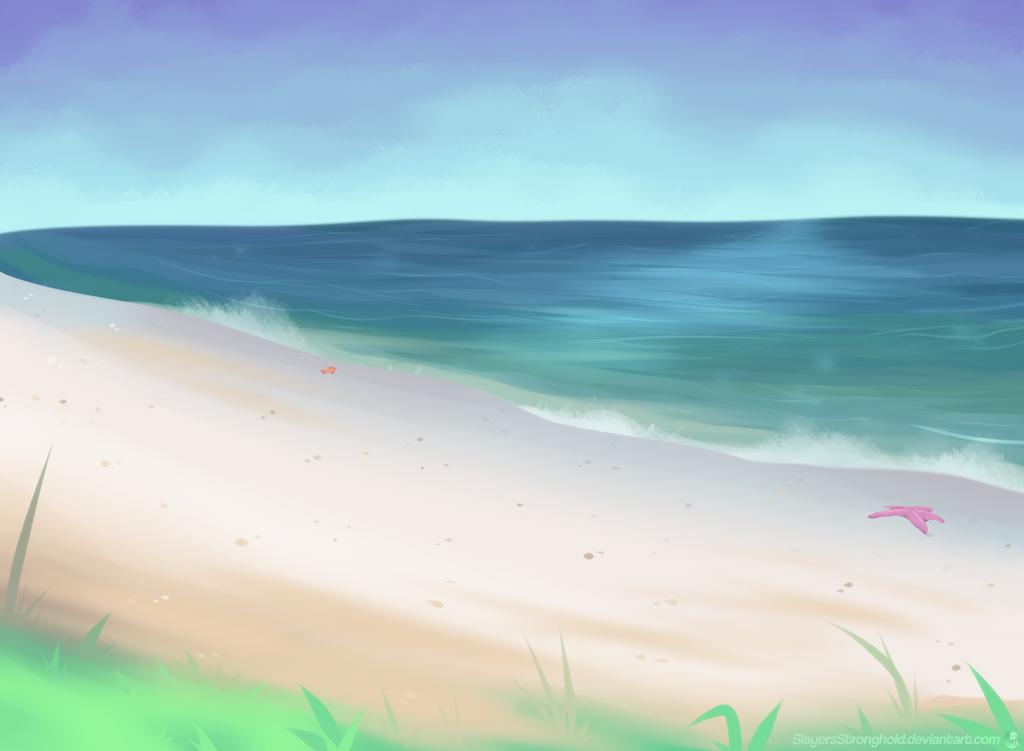 Brilliant Beach by SlayersStronghold