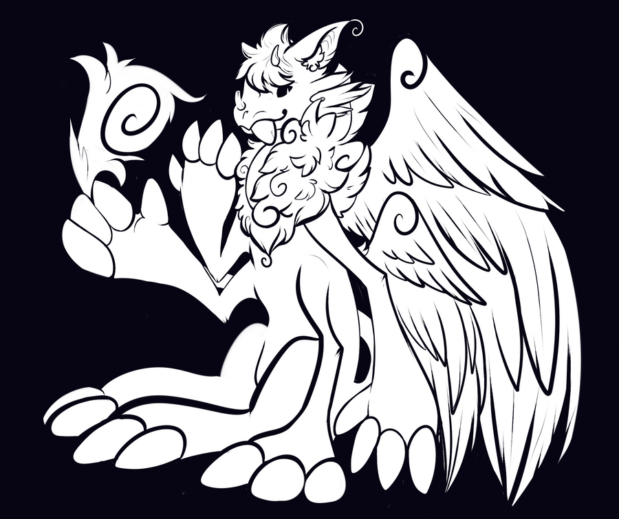 The Original Monster God Design by SlayersStronghold
