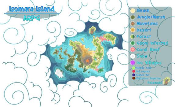 Isomara Island Map by SlayersStronghold