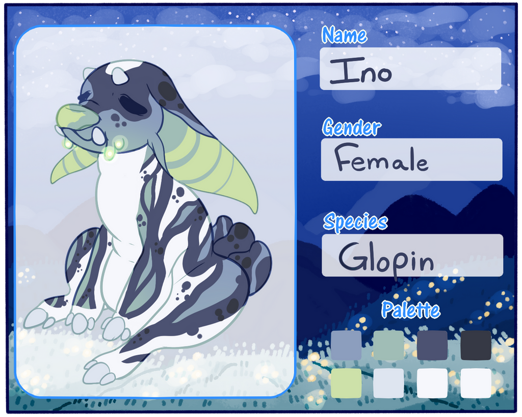 Ino Ref by SlayersStronghold