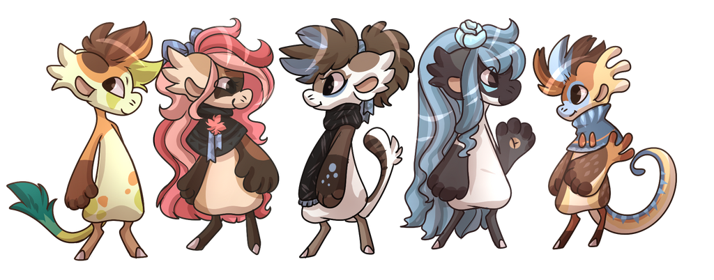 Five Little Beans by SlayersStronghold