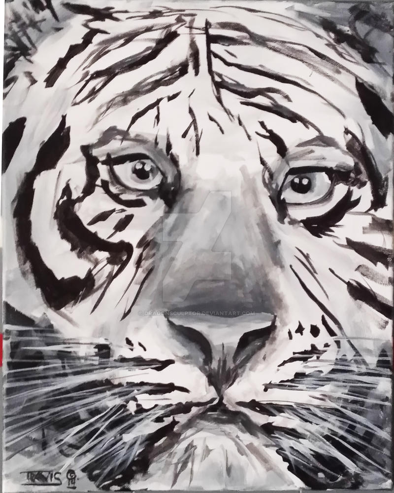 Tiger by dragonsculptor