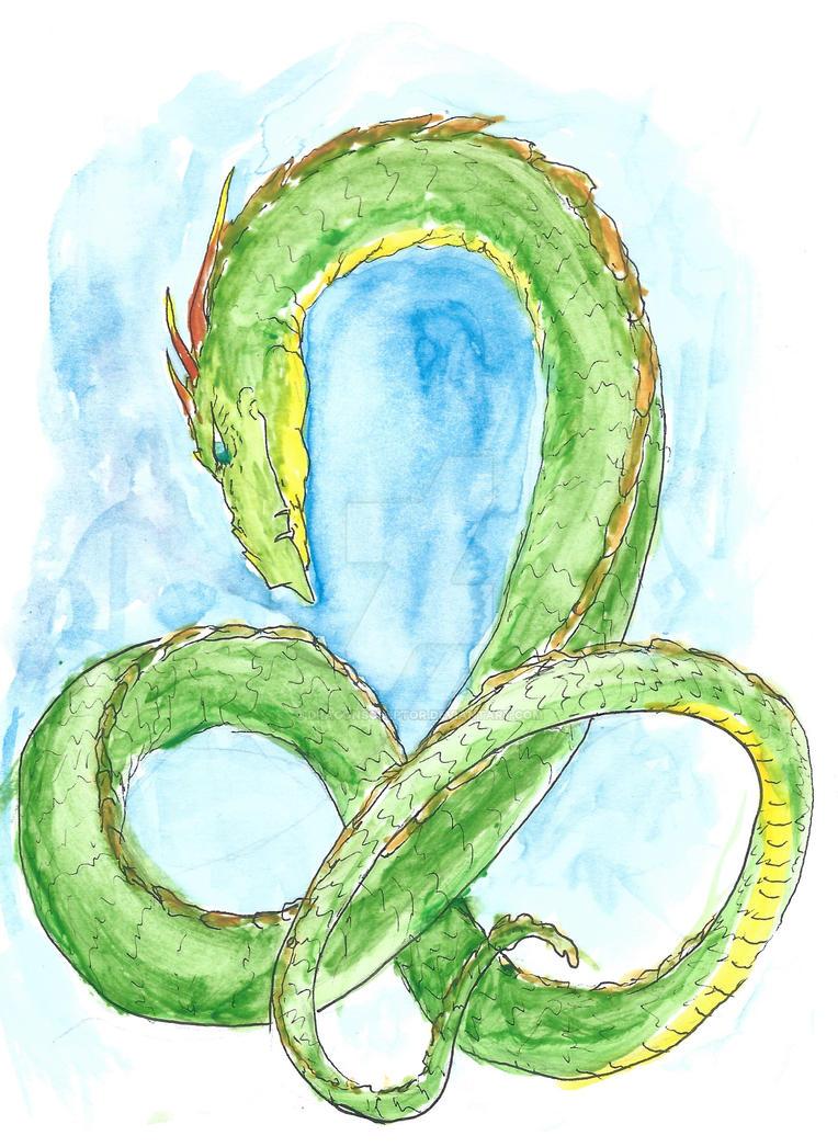 Earth Dragon by dragonsculptor
