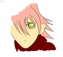 Haruko 2 colored by TheAnthonyE