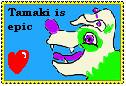 tamaki stamp by Rubylockheartwolf