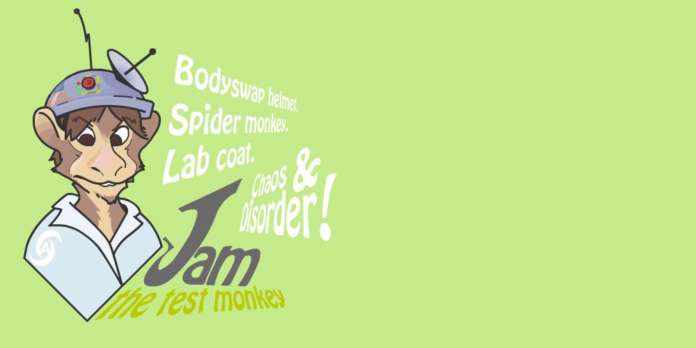 The Secret Origin Of Jam (Spider-Monkey TF) by Monkey-Scientist