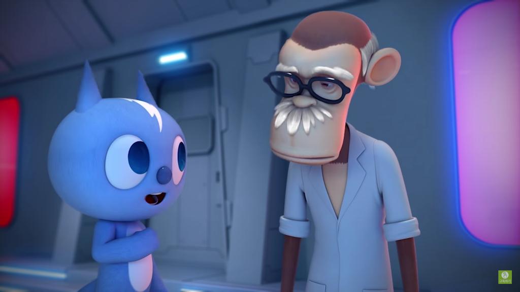 Old Man Jam AKA Dr. Tao from Miniforce by Monkey-Scientist