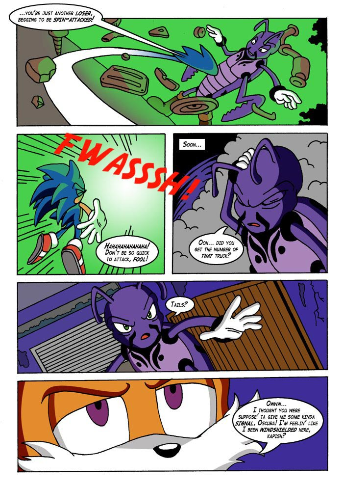 That One Time Sonic Turned Into A Bug by Monkey-Scientist