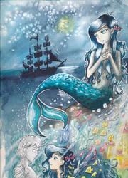 Die kleine Meerjungfrau by Nightrosi