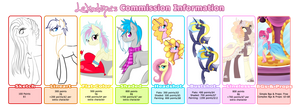 Commission Info (Open) by lekadema
