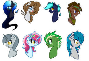 Headshot request batch 2 by lekadema