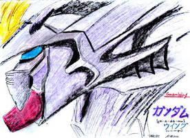 Gundam 1 by parsek76