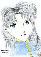 Misato Katsuragi by parsek76