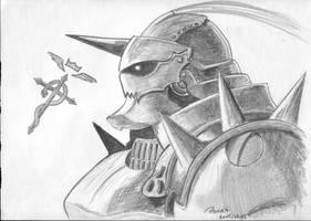 Alphonse Elric by parsek76