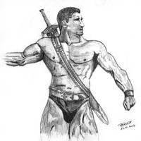 Barbarian by parsek76
