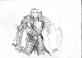 Male Fighter by parsek76