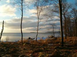 Sunrise in Sweden 1 by parsek76