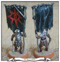 Orc Banner Bearer by parsek76