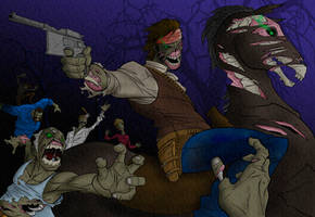 RDR Undead Nightmare colored by parsek76