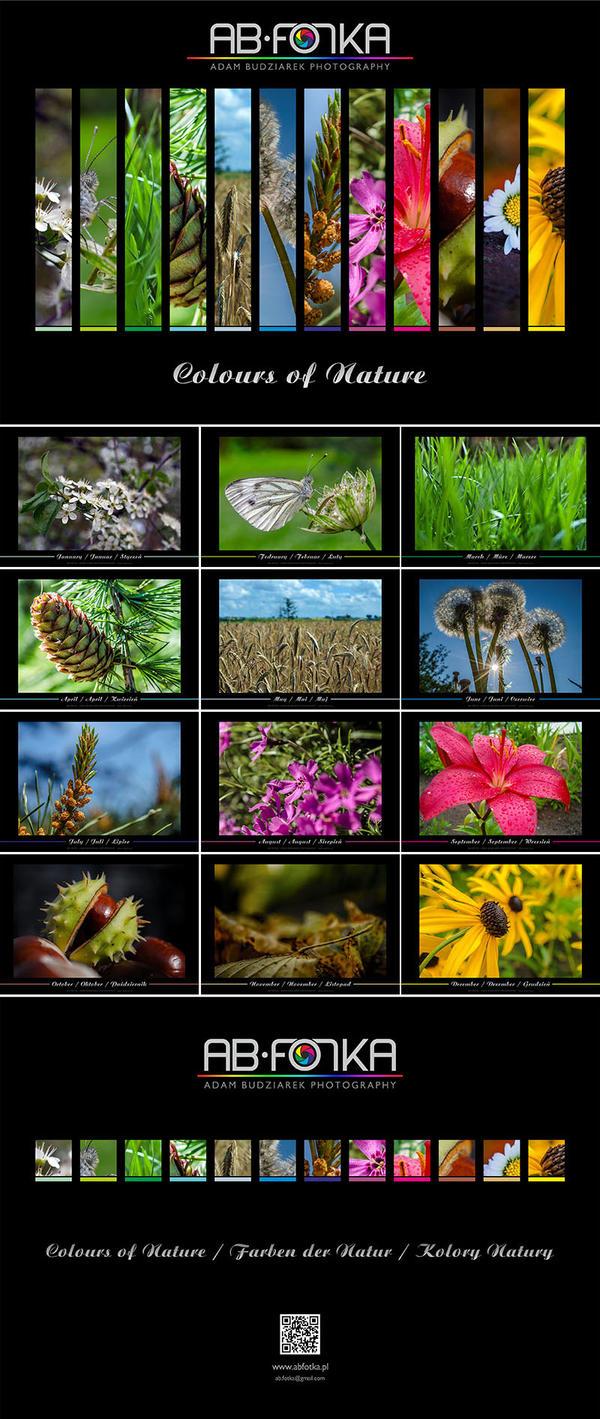 Colours of Nature - calendar by parsek76