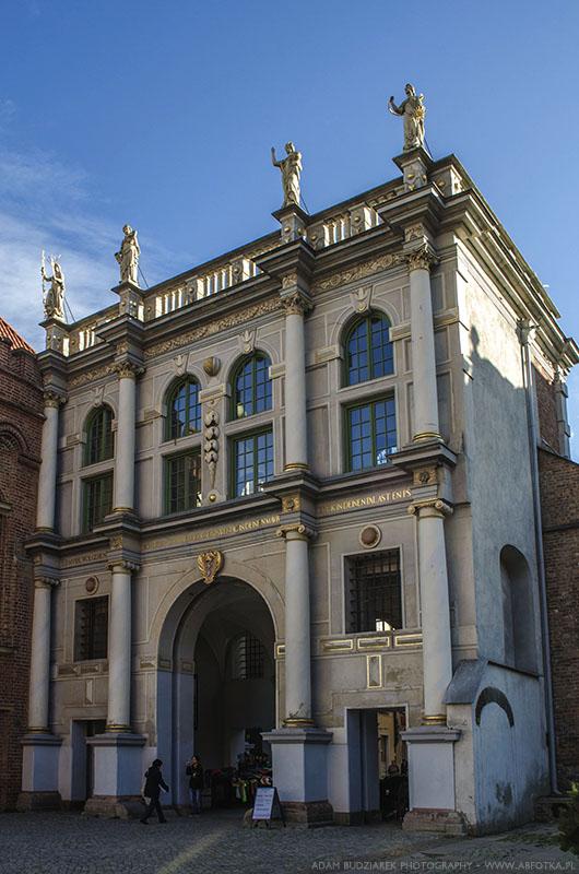 The Golden Gate in Gdansk by parsek76