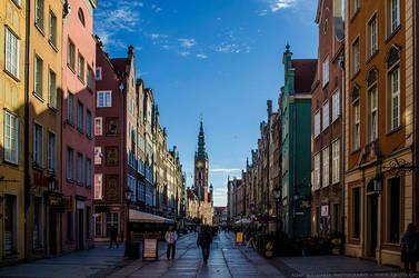 Long Lane in Gdansk by parsek76