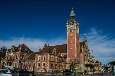 Gdansk Main Station by parsek76