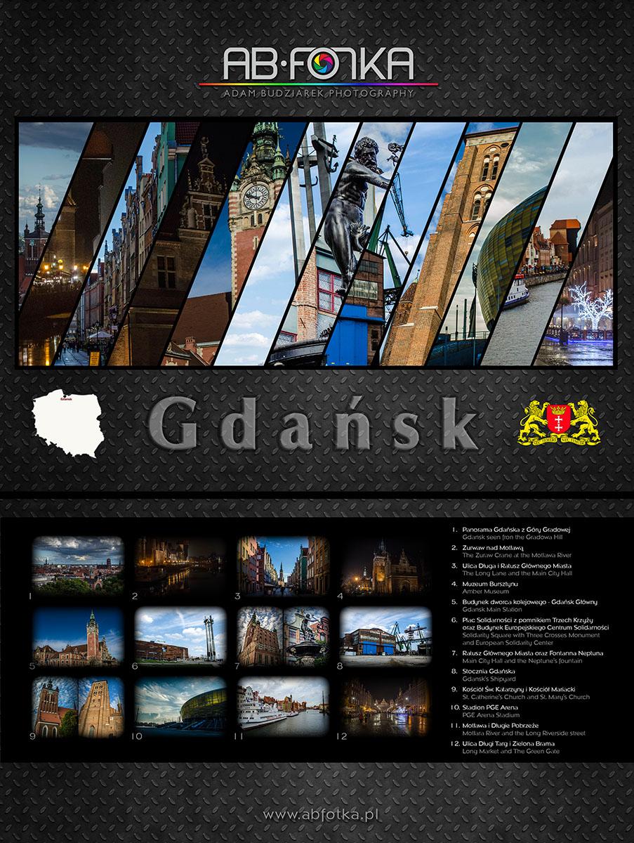 Gdansk calendar by parsek76