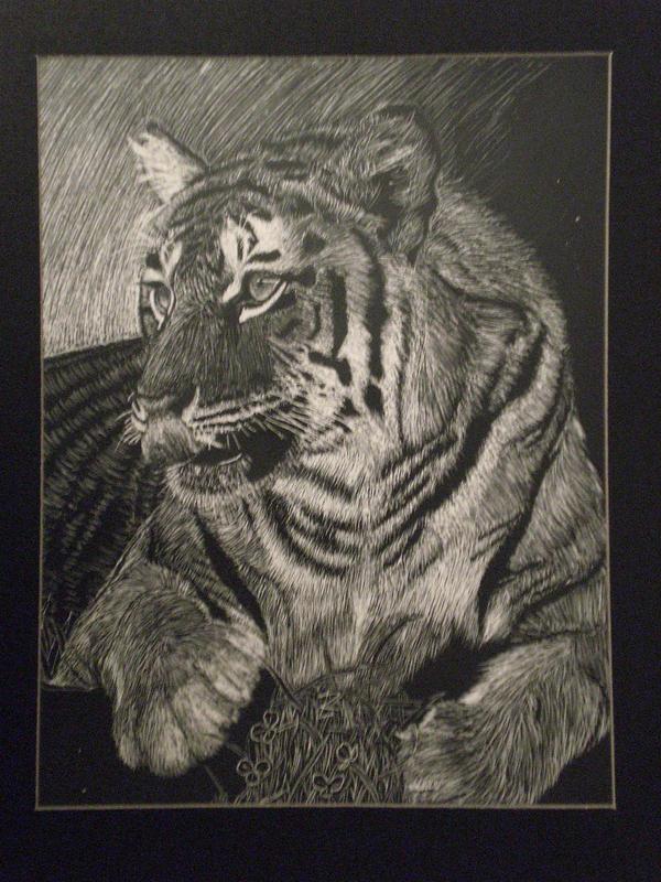 Vegetarian Tiger by rileylaurent