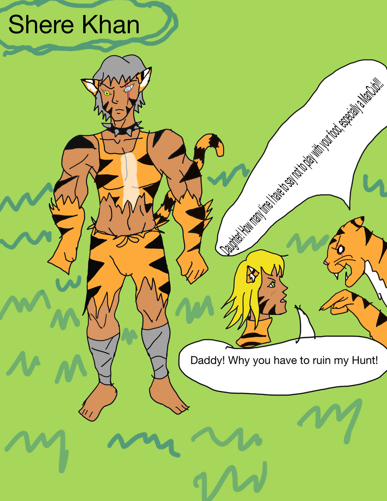 shere Khan by darkvoid64
