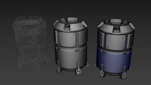Scifi Barrel